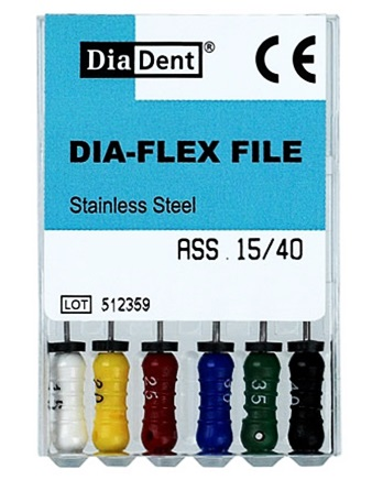 Flexible K-file(SS) 31mm #15/40