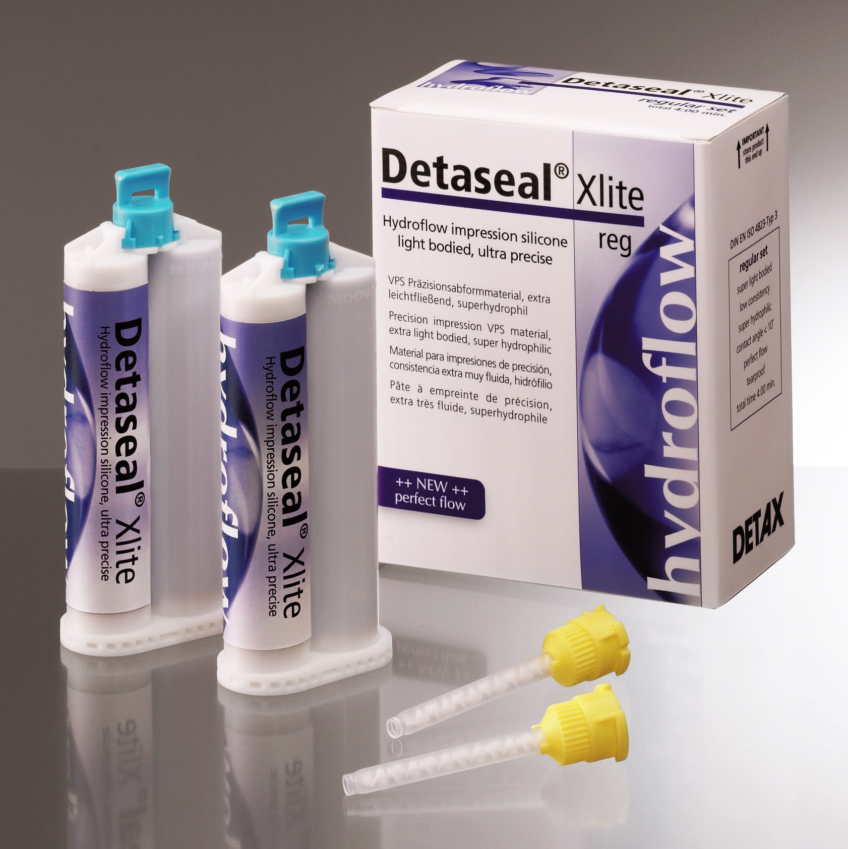 Detaseal Xlite, extra-light body, gyorskötő, 4x50ml