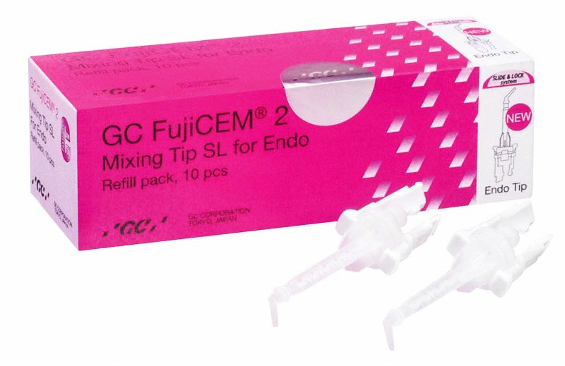 FujiCem 2 Mixing Tips SL for Endo, Refill pack 10db