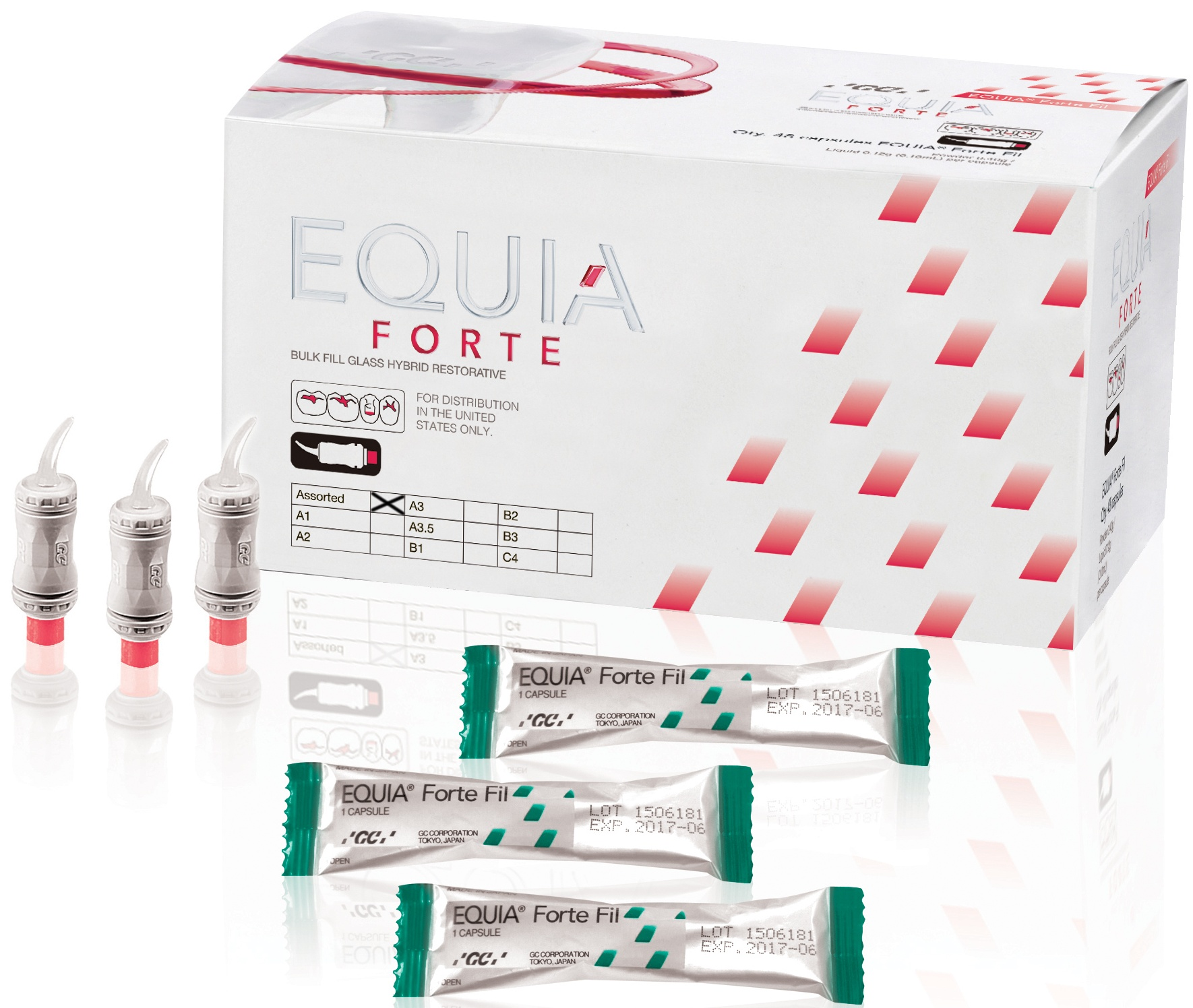 EQUIA Forte, Promo Pack, 2 x 50 Capsules A2 - A3, EEP