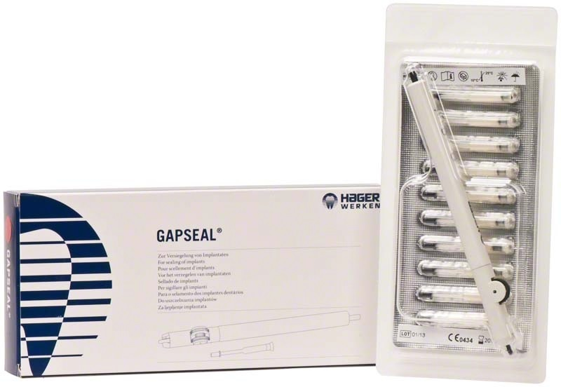GapSeal Szet 1 applikátor+10 tips 0,6ml