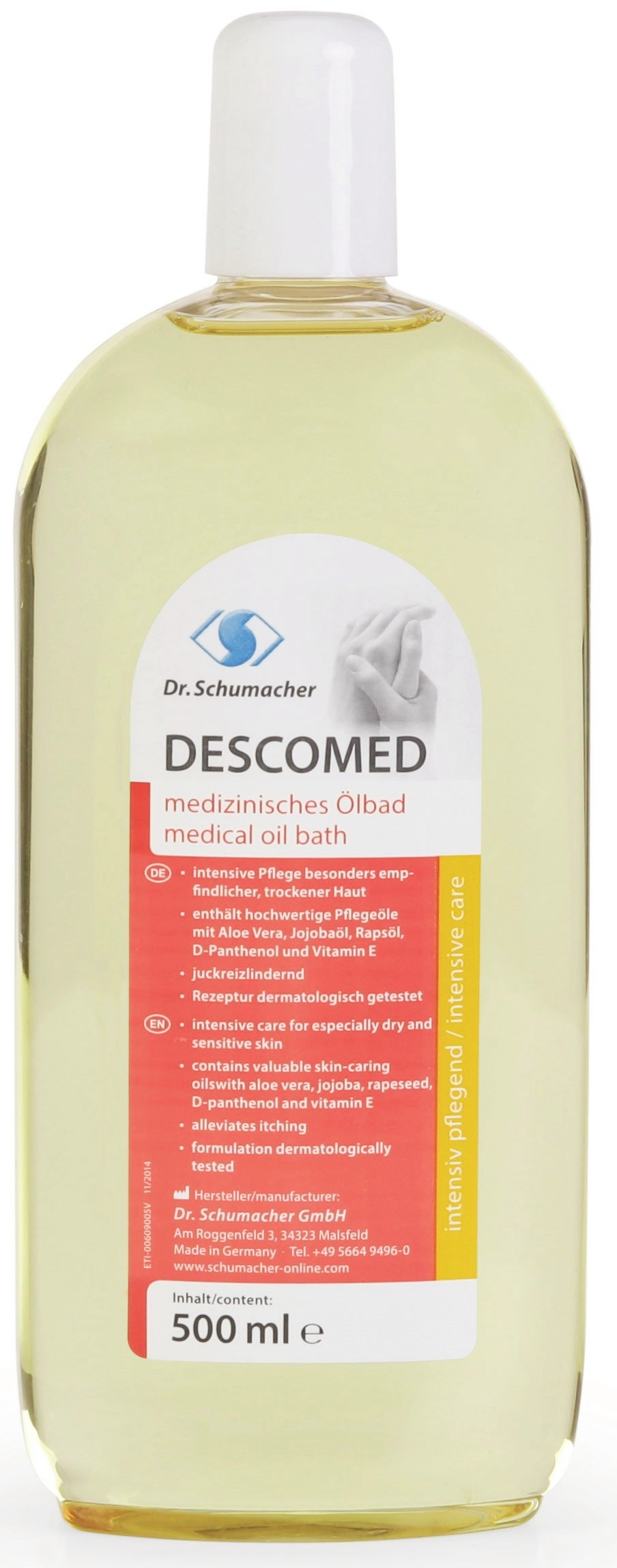 Descomed Ölbad 500 ml