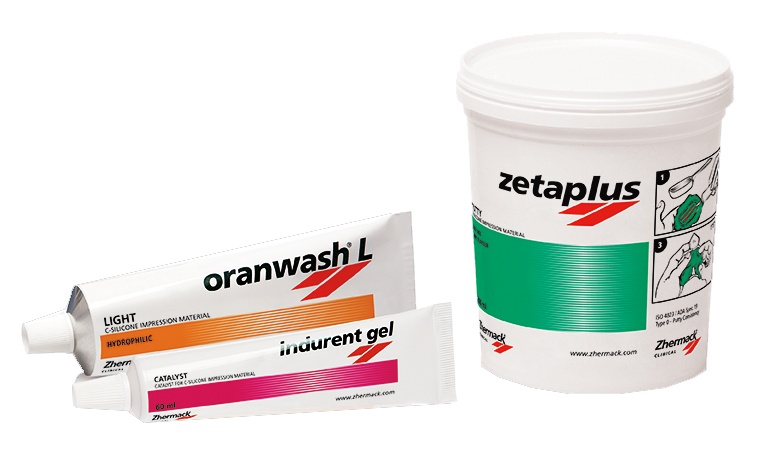 Zetaplus+Oranwash L+Indurent gel 60ml szett