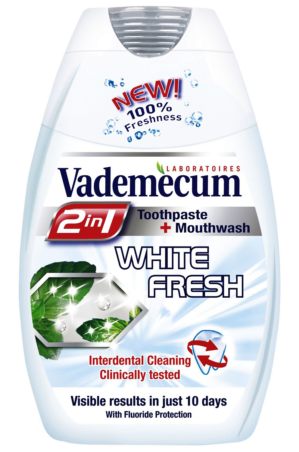Vademecum 75ml 2:1 White Fresh fogkrém