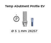 Temp Abutment Profile EV 4.8