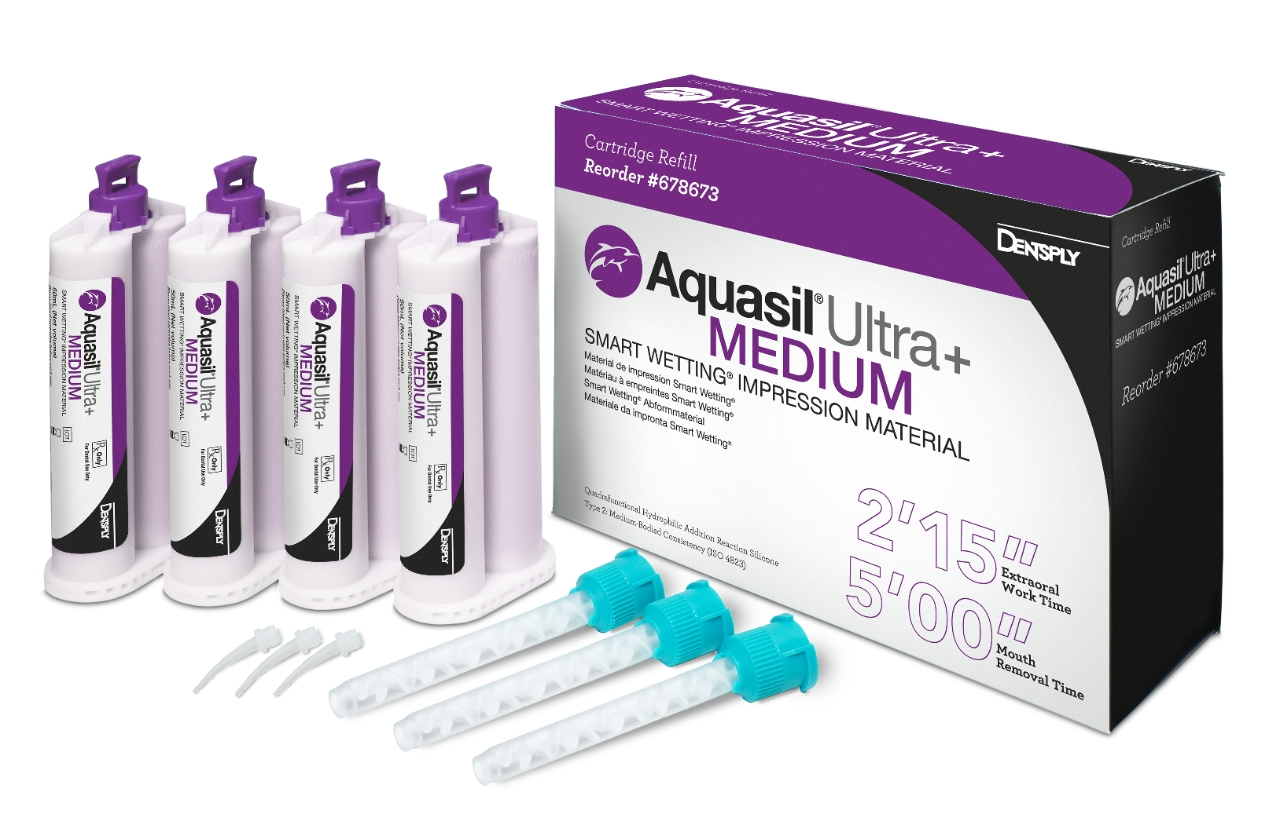 Aquasil Ultra+ Medium 4x50ml normálkötő