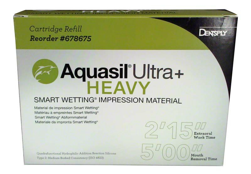 Aquasil Ultra+ Heavy 4x50ml normálkötő