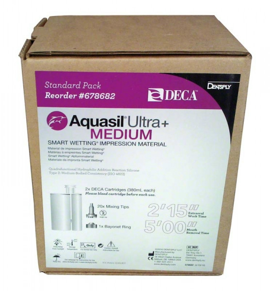 Aquasil Ultra+ Medium Deca normálkötő 2x380ml