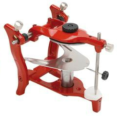 Articulator opening 125° +4 mounting plates
