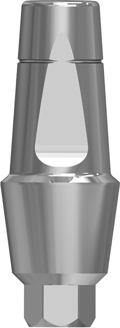 Anatomic 3mm transgingival abutment, h. 6mm NP