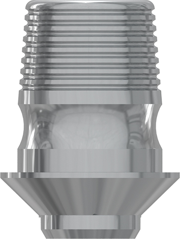 Ti Base h. 4mm without hex., int. hex., SP